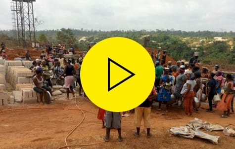 Video zum Ausbau Kyekyewere Health Center in Madamfo Ghana
